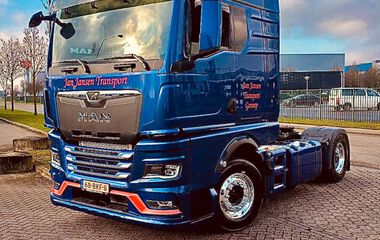 MAN TGX voor Jan Jansen Transport
